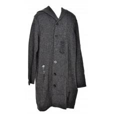 Rocawear Mens Urban Design Long Black Wool Blend Hoodie Sweater NWT 3XL