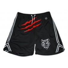 Hudson Outerwear Black Mesh Shorts Wild Tigress 2XL