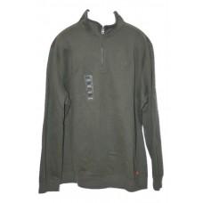 IZOD Sueded Fleece Pullover Green 2XLT