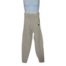 Men's Knit Lounge Pants Wool Blend Oatmeal