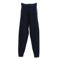 Men's Knit Lounge Pants Wool Blend Navy - Choose Size