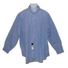 Ralph Lauren Dress Shirt Big & Tall Blue Pin Stripe 3XB