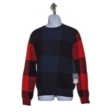 Rocawear Men's Multi-Color Long Sleeve Pullover Crewneck Sweater