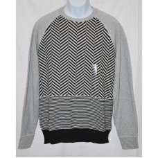 Sean John French Terry Pullover Sweater Multicolor LG