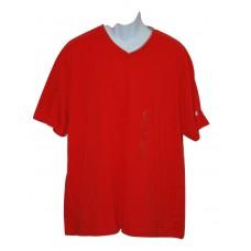 Sean John V-Neck T-Shirt 3XL Red