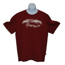 Men's Triumph Motorcycles Nepal T-Shirt - Red - XXL