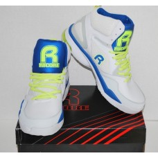 Rycore Zero 4 Men's Basketball Shoes White Blue Lime Round Toe Size 10