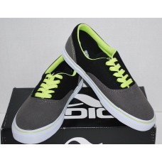 Men's Canvas Cruisers |Adio |Charcoal / Lime |NIB | Size 9M