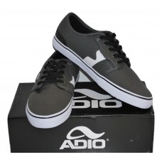 Men's Skate Shoes | Adio |Charcoal/White |Size 11