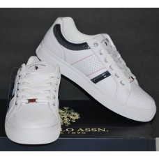 Men's White Lace-Up Athletic Shoes | U.S. Polo Assn. | 8.5M | NIB