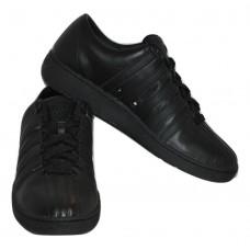 Men's K-SWISS Black Leather Casual Athletic Shoes SZ 11