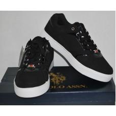 Men's Casual Black Sneakers | U.S. Polo Assn. | NIB | 7.5M