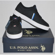 Men's Casual Black Sneakers |U.S. Polo Assn. | Size 9