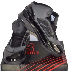 Mens High Top Basketball Shoes - Rycore Zero 3 - Black - Size 12