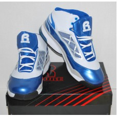 Mens High Top Basketball Shoes - Rycore Zero 3 - Metallic Blue - Size 10.5