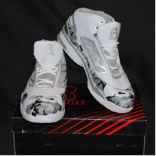 Mens High Top Basketball Shoes - Rycore Zero 3 - White Camouflage - Size 11.5