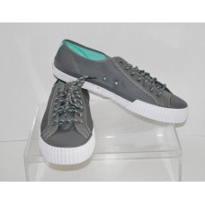 PF Flyers Men's Center Lo Grey PM14OL1R, New with Defect, Size 12