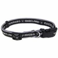 Oakland Raiders Dog Collar (Small SM)