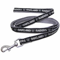 Oakland Raiders Dog Leash (Medium) Pets First