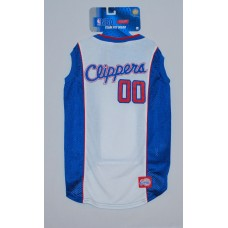 LA Clippers NBA Licensed Dog Basketball Jersey LG