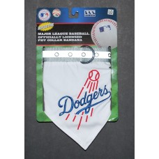 LA Dodgers Dog Bandana Collar, Pets First, LG