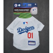 LA Dodgers Dog Jersey by Pets First. - XS
