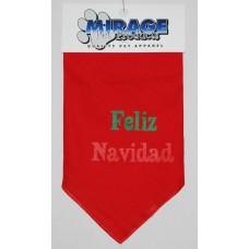 Red Dog Bandana - Feliz Navidad - SM