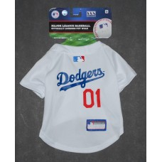 LA Dodgers Dog Jersey by Pets First. - SM
