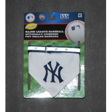 NY Yankees Dog Bandana Collar, Pets First, MED