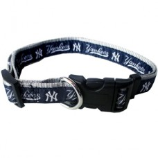 MLB NY Yankees Adjustable Nylon Dog Collar (Medium MED) Pets First, Inc.