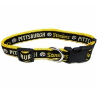 Pittsburgh Steelers Dog Collar (Choose Size)
