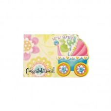 Congratulations New Baby Memo Cards (Pack of 50)