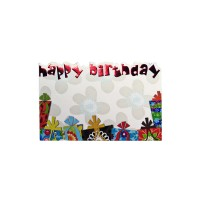 Happy Birthday Memo Cards (Pack of 50)