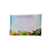 Thank You Memo Cards (Pack of 50)
