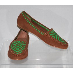 Joie Aliso 1155 Brown Moccasins Flats European Size 37