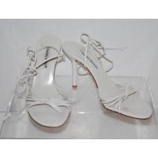 Charles David 4582CD Sadie Bone White Strappy High Heel Sandals Size 9