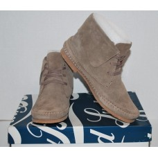 Lucky Brand Women's Brown Suede Ankle Boot 7.5M
