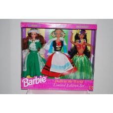 Dolls of the World Set: Irish, German & Polynesian NIP Limited Edition c1994