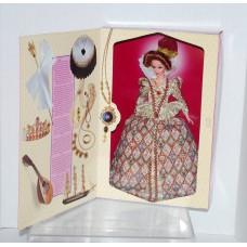 Elizabethan Queen Barbie - Mattel - Great Era Series - Volume 6