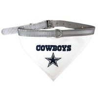 Dallas Cowboys Dog Bandana Collar Reflective & Adjustable (Choose Size)