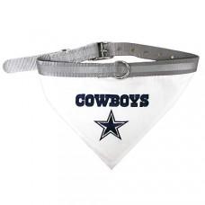 Dallas Cowboys Dog Bandana Collar Reflective & Adjustable (Choose Size)