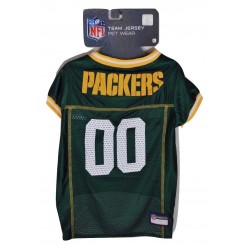Green Bay Packers NFL Team Jersey for Dogs