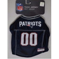 New England Patriots Team Jersey for Dogs