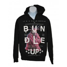 "Rocawear Blak ""Bundle Up"" Hoodie Sweatshirt Urbanwear"