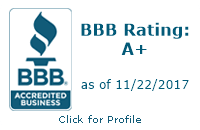 "And the Better Business Bureau says, ""A+"""